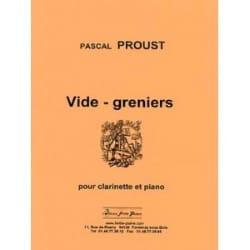 Pascal Proust - Garage sales - Sheet Music - di-arezzo.co.uk