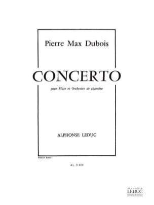 Concerto – Flûte piano - Pierre-Max Dubois - laflutedepan.com