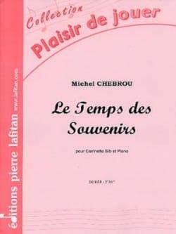 Le Temps des Souvenirs Michel Chebrou Partition laflutedepan