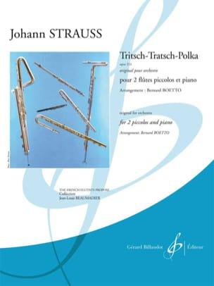 Johann (Fils) Strauss - Tritsch-Tratsch Polka Op. 214 - Partition - di-arezzo.fr