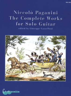 Complete Solo Guitar Works PAGANINI Partition Guitare - laflutedepan