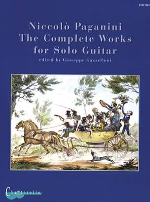 Niccolò Paganini - Complete Solo Guitar Works - Partition - di-arezzo.fr