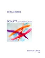 Sonate For Clarinet Alone Tom Jackson Partition laflutedepan