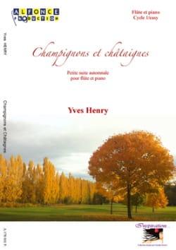 Champignons et Châtaignes - Yves Henry - Partition - laflutedepan.com