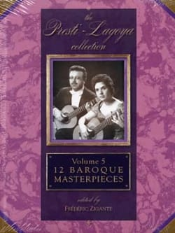 12 Baroque Masterpieces Volume 5 - Partition - di-arezzo.fr