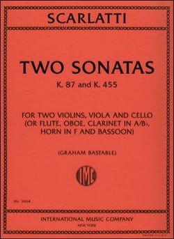 Domenico Scarlatti - 2 Sonates (K.87 et K.455) - Partition - di-arezzo.fr