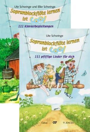 Ute Und Elke Schwing - Sopranblockflöte Lernen Ist Cool - Sheet Music - di-arezzo.com