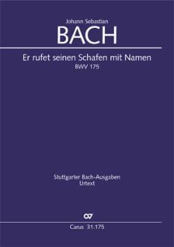 BACH - Er Rufet Seinen Schafen Mit Namen - Partition - di-arezzo.fr