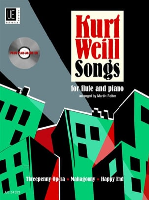 Kurt Weill - Kurt Weill Songs for Flute and Piano - Sheet Music - di-arezzo.co.uk