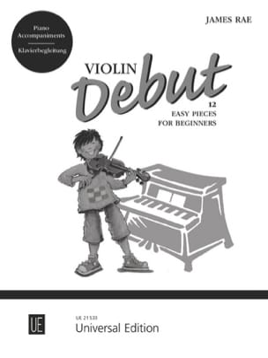 Violon Debut - Accompagnement Piano - James Rae - laflutedepan.com