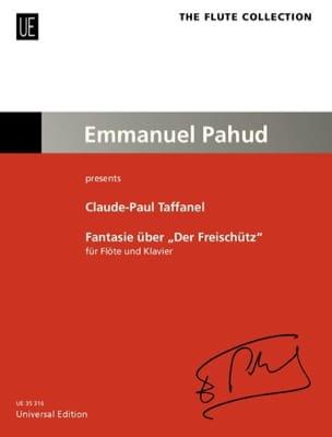 Paul Taffanel - Fantaisie sur Le Freischütz de Weber - Partition - di-arezzo.fr