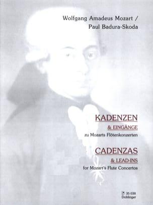Mozart Wolfgang Amadeus / Badura-Skoda Paul - Cadences des Concertos Pour Flûte de Mozart - Partition - di-arezzo.fr