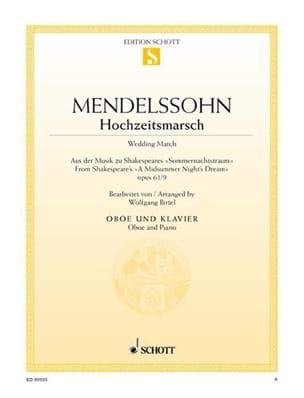 MENDELSSOHN - Bridal Walk - Sheet Music - di-arezzo.co.uk