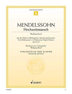 Bartholdy Felix Mendelssohn - Marche Nuptiale - Partition - di-arezzo.fr