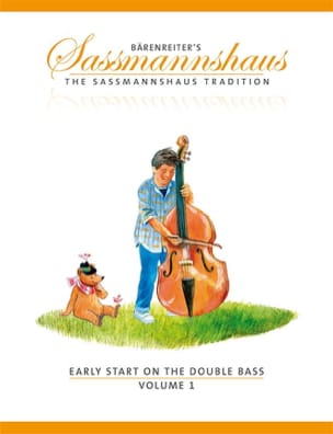 egon sassmannshaus - Early Start On The Double Bass Volume 1 - Partition - di-arezzo.fr