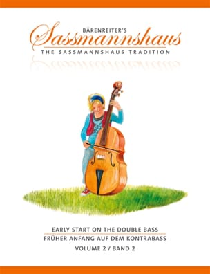 egon sassmannshaus - Early Start On The Double Bass Volume 2 - Sheet Music - di-arezzo.co.uk