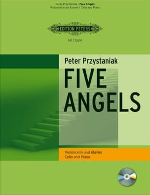 Peter Przystaniak - Five Angels for Cello - Partition - di-arezzo.fr