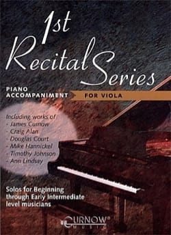 First Recital Series - Piano/Viola - Piano Accompaniments - laflutedepan.com