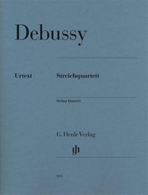 DEBUSSY - Quatuor à Cordes Opus 10 - Partition - di-arezzo.fr