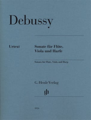 DEBUSSY - Sonata for Flute, Viola and Harp - Parts - Sheet Music - di-arezzo.com