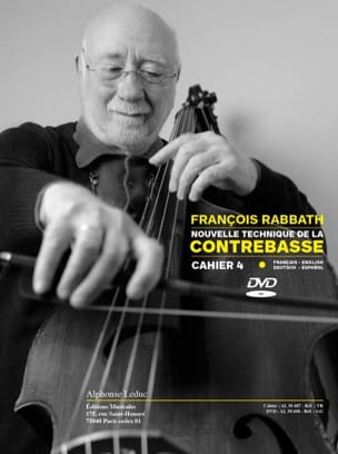 François Rabbath - New Double Bass Technique - Book 4 - Partition - di-arezzo.co.uk