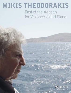 East Of The Aegean THEODORAKIS Partition Violoncelle - laflutedepan