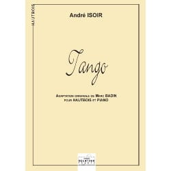 André Isoir - Tango - Oboe and Piano - Sheet Music - di-arezzo.co.uk