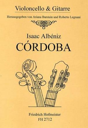 Cordoba - Isaac Albeniz - Partition - Duos - laflutedepan.com