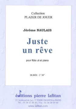 Jérôme Naulais - Just a dream - Sheet Music - di-arezzo.com