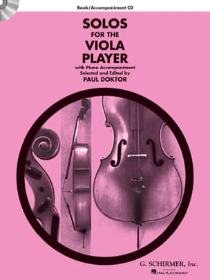 Paul Doktor - Solos For The Viola Player - Partition - di-arezzo.fr