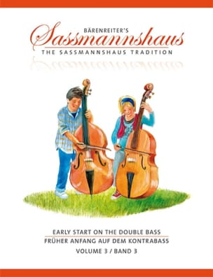 Holger & Close Peter Sassmannshaus - Early Start On The Double Bass Volume 3 - Partition - di-arezzo.fr
