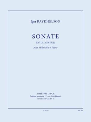 Sonate en la Mineur Pour Violoncelle - laflutedepan.com