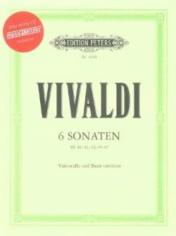 6 Sonates Pour Violoncelle - Rv 40,41,43,45,47 - laflutedepan.com