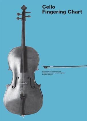 Cello Fingering Chart - David Harrison - Partition - laflutedepan.com