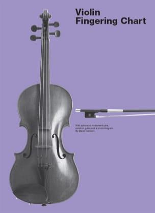 David Harrison - Violin Fingering Chart - Partition - di-arezzo.fr