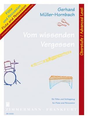 Gerhard Muller-Hornbach - Vom Wissenden Vergessen - Sheet Music - di-arezzo.com