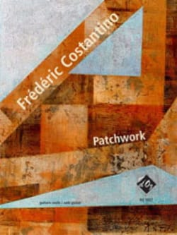 Patchwork - Guitare Frédéric Costantino Partition laflutedepan
