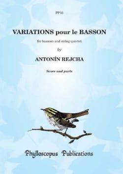 Variations pour le Basson - Anton Reicha - laflutedepan.com