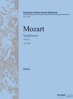 MOZART - Major Eb Symphony - K.543 - Sheet Music - di-arezzo.co.uk