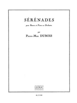 Pierre-Max Dubois - Sérénades - Partition - di-arezzo.fr