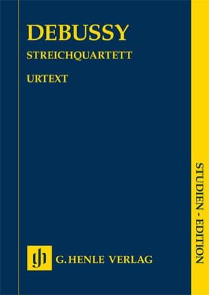 Quatuor à Cordes, Opus 10 - Claude Debussy - laflutedepan.com