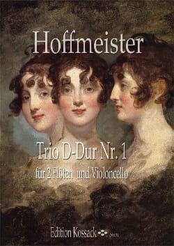 Trio N°1 en Ré Majeur - HOFFMEISTER - Partition - laflutedepan.com