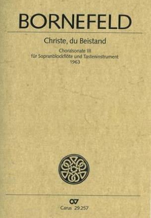 Christ, du Beistand - Sonate-Choral N° 3 - laflutedepan.com