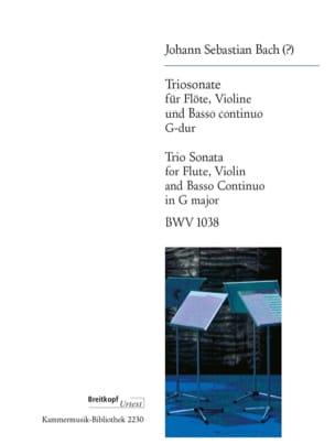 BACH - Triosonate in G-Dur BWV 1038 - Noten - di-arezzo.de