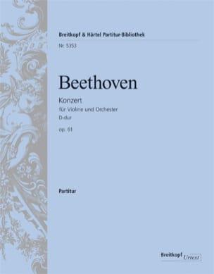 Concerto en Ré Majeur Opus 61 - BEETHOVEN - laflutedepan.com