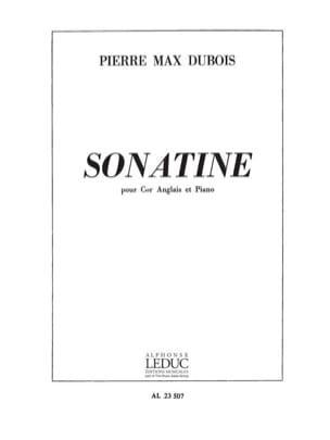 Sonatine Pierre-Max Dubois Partition Hautbois - laflutedepan