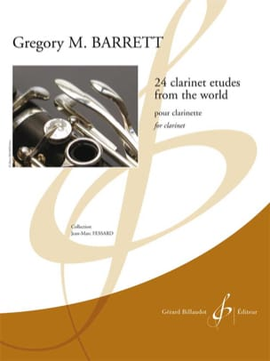 24 Clarinet Etudes from the world Gregory M. Barrett laflutedepan