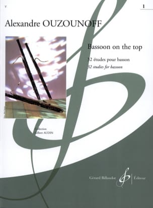 Alexandre Ouzounoff - Bassoon on The Top Volume 1 - Sheet Music - di-arezzo.co.uk