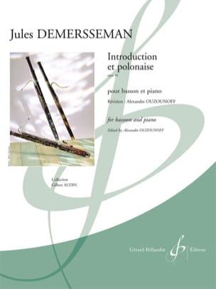 Jules Demersseman - Introducción y el Opus polaco 30 - Partitura - di-arezzo.es