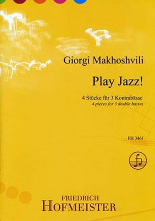 Play Jazz ! Giorgi Makhoshvili Partition Contrebasse - laflutedepan